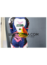 Overwatch D.VA Classic Skin High Detail Cosplay Costume - Cosrea Cosplay