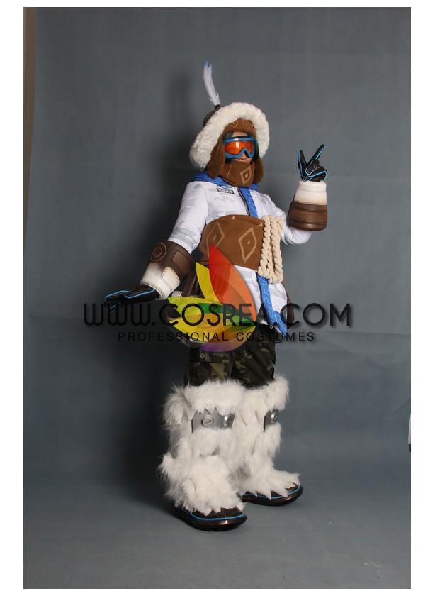 Overwatch Mei Yeti Hunter Skin Cosplay Costume - Cosrea Cosplay