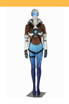 Cosrea Games Overwatch Tracer Gradient Blue Cosplay Costume