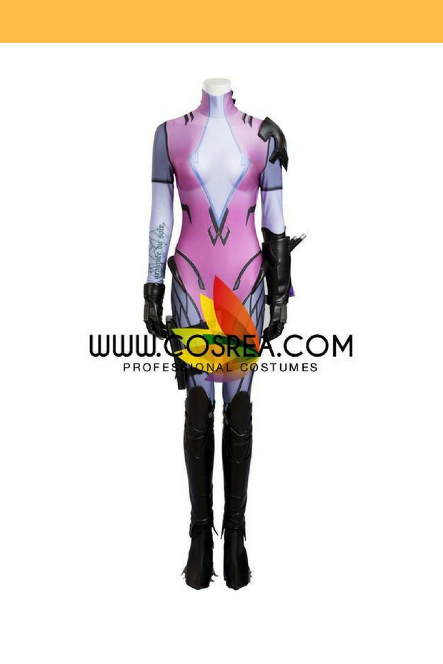 Cosrea Games Overwatch Widowmaker Fully Covered Cosplay Costume
