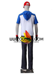Pokemon Black White Ash Cosplay Costume