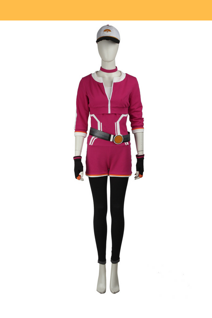 Pokemon Go Red Female Trainer Cosplay Costume