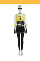 Pokemon Go Yellow Female Trainer Cosplay Costume