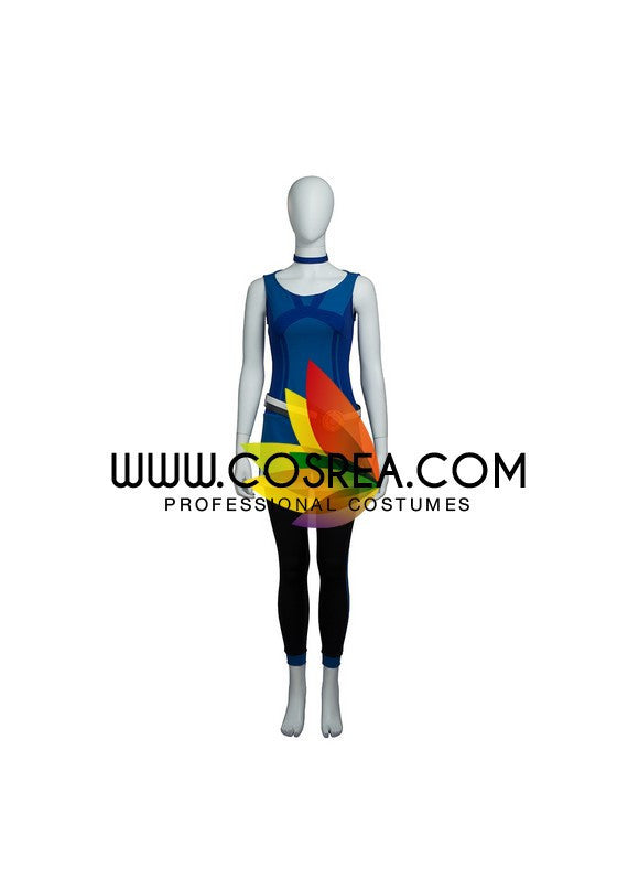 Pokemon Trainer Blue Cosplay Costume - Cosrea Cosplay