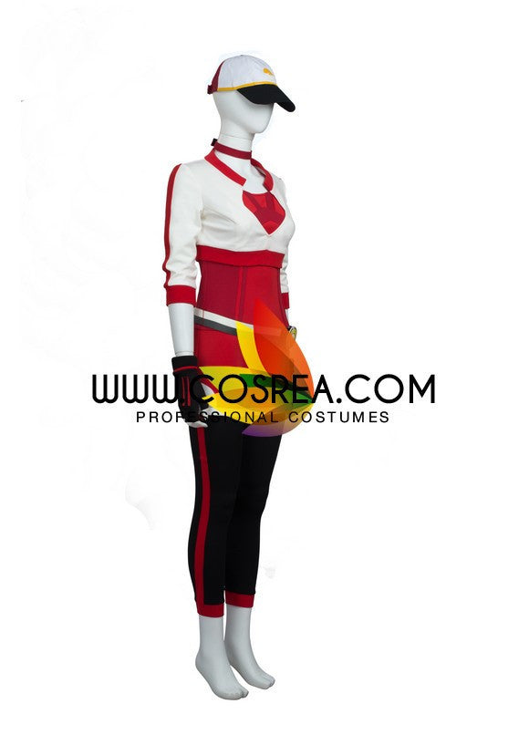 Pokemon Trainer Red Cosplay Costume - Cosrea Cosplay