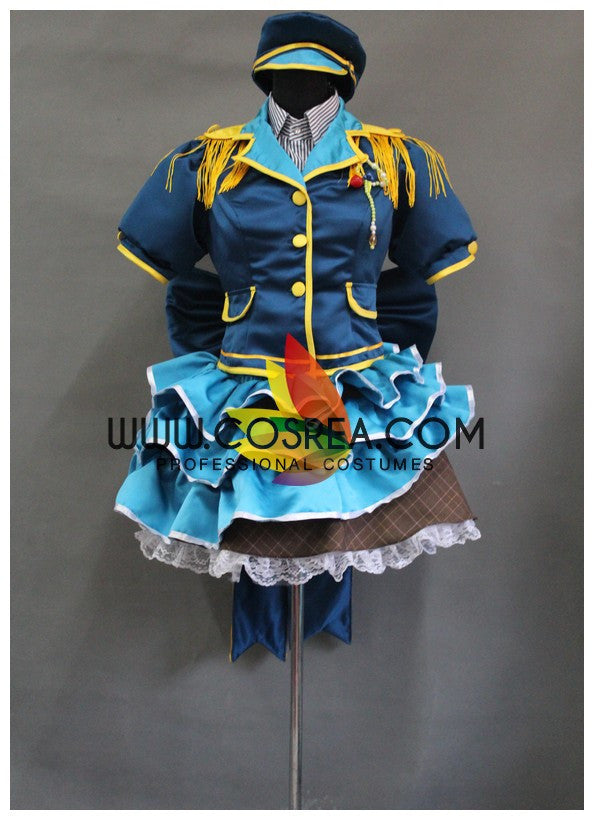 Cosrea Games Umi Sonoda Love Live Fruit Fresh SR Cosplay Costume