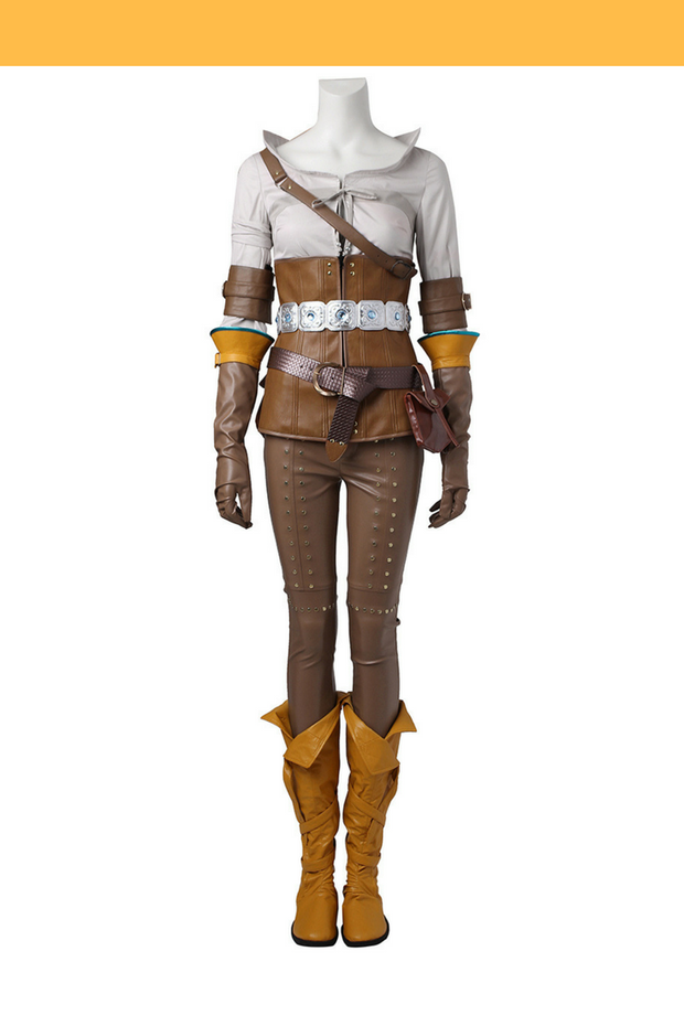 Witcher 3 Ciri Cosplay Costume - Cosrea Cosplay