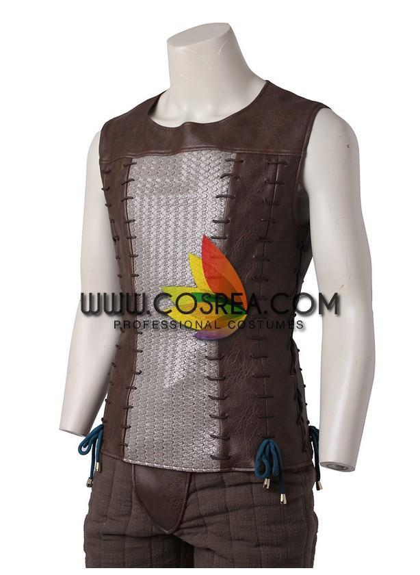 Cosrea Games Witcher 3 Geralt of Rivia Cosplay Costume