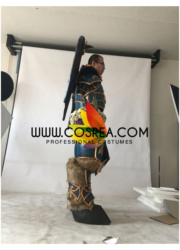 Mal'Ganis World of Warcraft Custom Armor Cosplay Costume - Cosrea Cosplay
