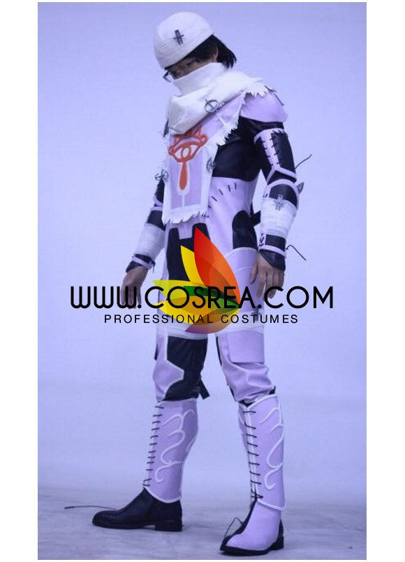 Sheik Super Smash Brothers Custom PU Leather Cosplay Costume - Cosrea Cosplay