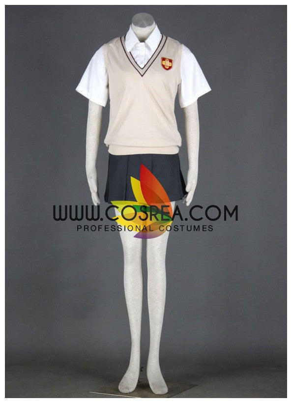 Cosrea K-O A Certain Magical Index Mikoto Misaka Cosplay Costume