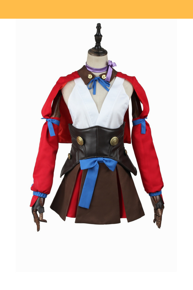 Kabaneri of the Iron Fortress Mumei Cosplay Costume - Cosrea Cosplay