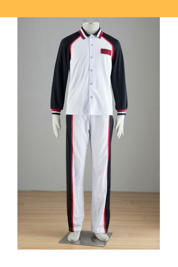 Cosrea K-O Kuroko's Basketball Seirin High Winter S1 Cosplay Costume