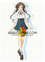 Cosrea K-O Love, Election And Chocolate Isara Aomi Cosplay Costume