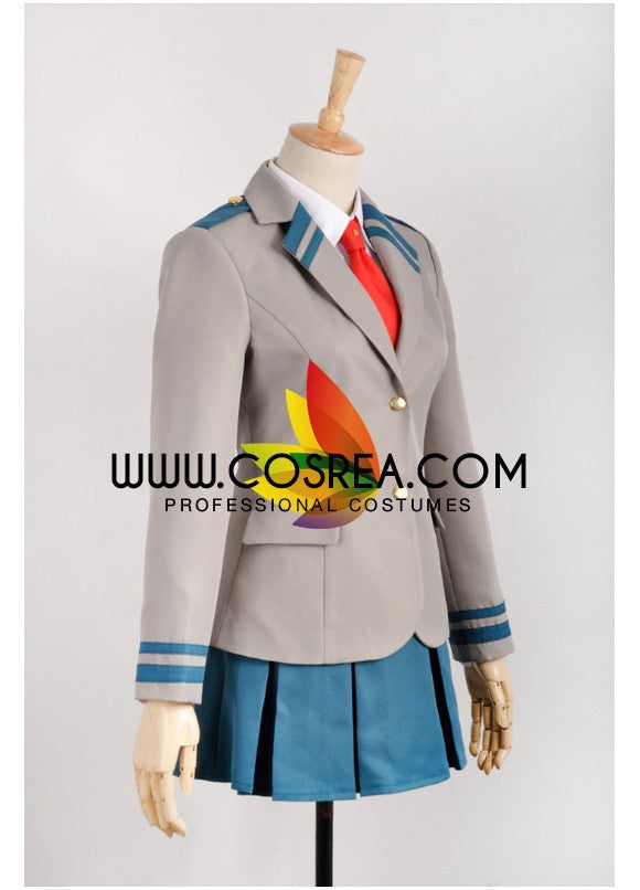 My Hero Academia Ochako Uraraka Uniform Cosplay Costume - Cosrea Cosplay