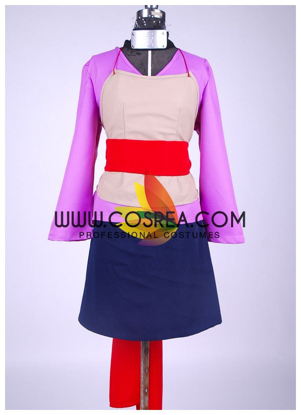 Naruto Temari Uniform Fabric Version Cosplay Costume - Cosrea Cosplay