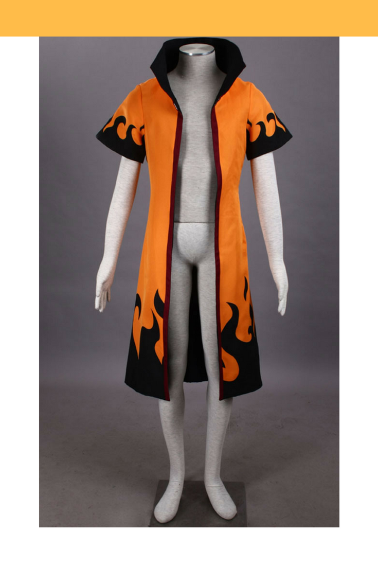 Seventh Hokage Naruto Orange Jacket Anime Jaket Jubah Minato K O Titles Cosplay Costumes Collection Cosrea 735x1102