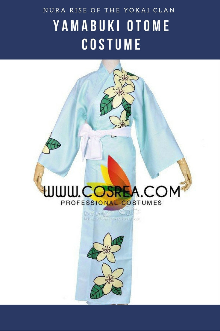 Nura Rise of the Yokai Clan Yamabuki Otome Cosplay Costume