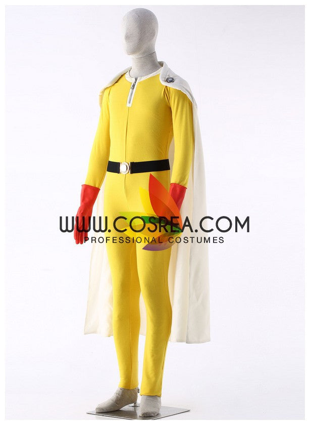 One Punch Man Saitama Cosplay Costume - Cosrea Cosplay