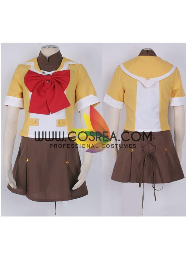 Cosrea K-O Ranka Lee Macross Frontier Cosplay Costume