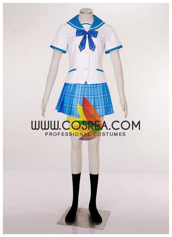 Strike the Blood Yukina Himeragi Ayami Academy Cosplay Costume - Cosrea Cosplay
