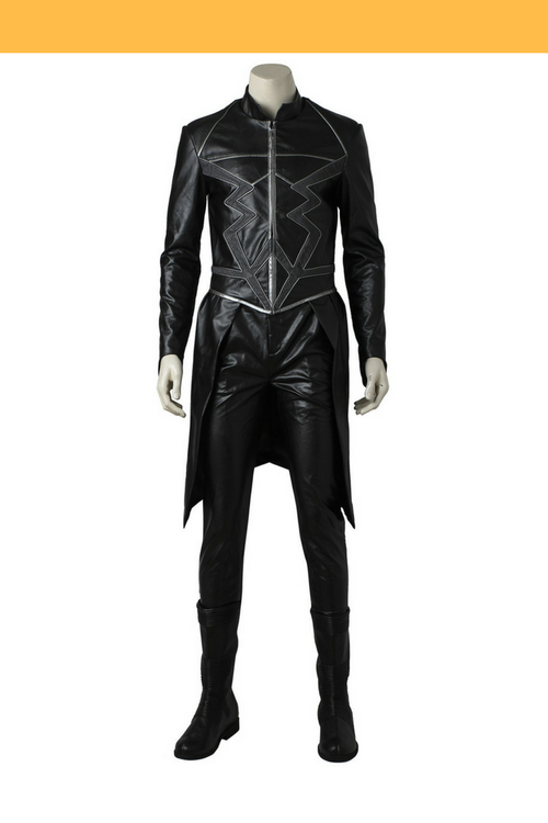 Cosrea Marvel Universe Black Bolt Inhumans Cosplay Costume