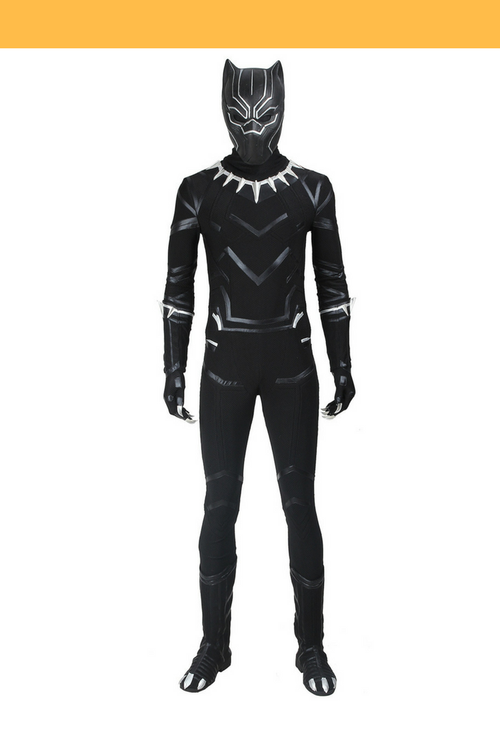 Cosrea Marvel Universe Black Panther Civil War Cosplay Costume