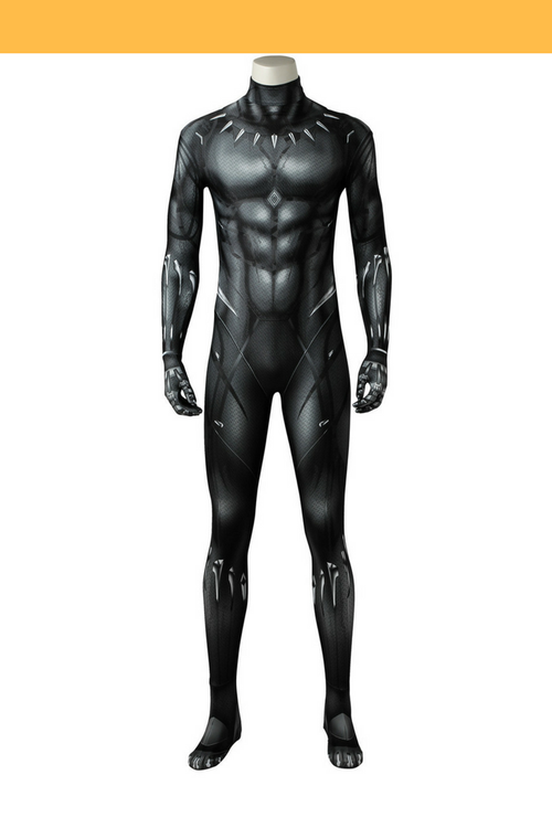 Cosrea Marvel Universe Black Panther Digital Printed Cosplay Costume
