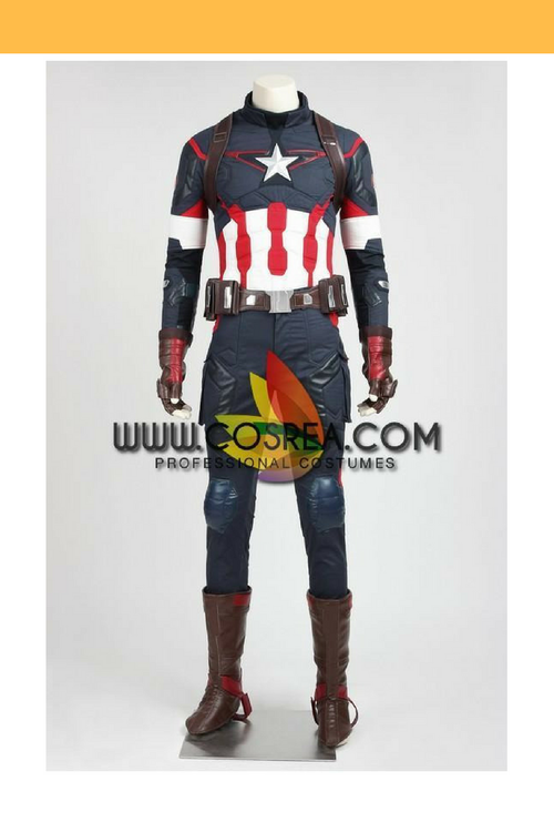 Cosrea Marvel Universe Captain America Age Of Ultron Cosplay Costume