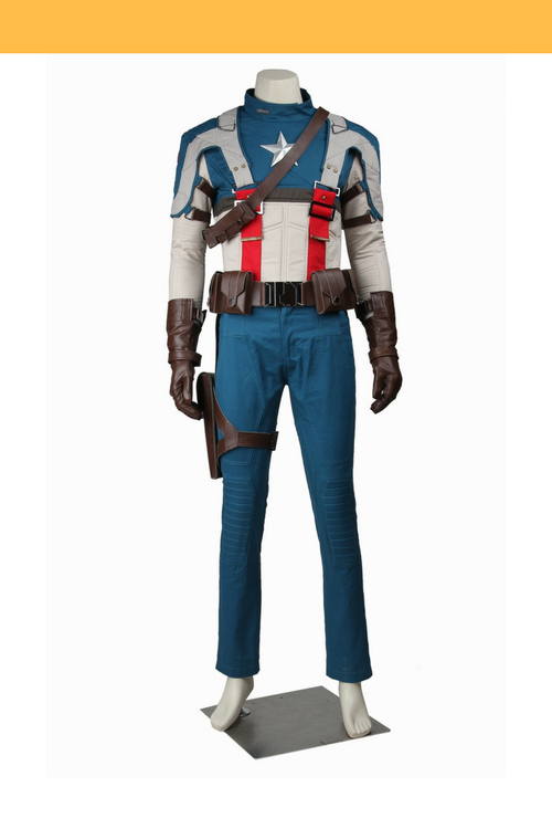 Cosrea Marvel Universe Captain America The First Avengers Cosplay Costume
