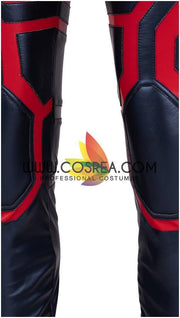 Cosrea Marvel Universe Captain Marvel Infinity War Metallic Blue Cosplay Costume