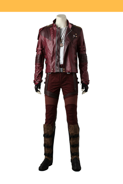 Cosrea Marvel Universe Guardians Of The Galaxy Vol 2 Star Lord Short Jacket Cosplay Costume