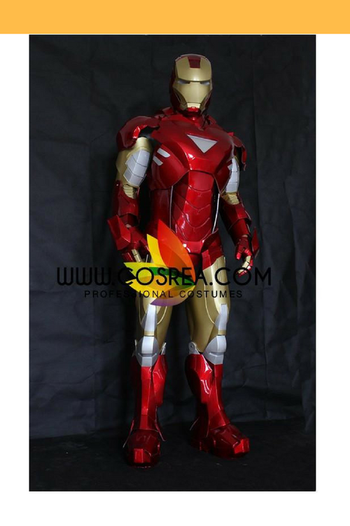 Cosrea Marvel Universe Iron Man MK3 Custom Armored Cosplay Costume