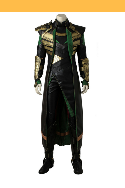 Cosrea Marvel Universe Loki The First Avengers Cosplay Costume