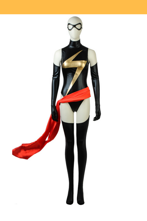 Cosrea Marvel Universe Ms Marvel Cosplay Costume