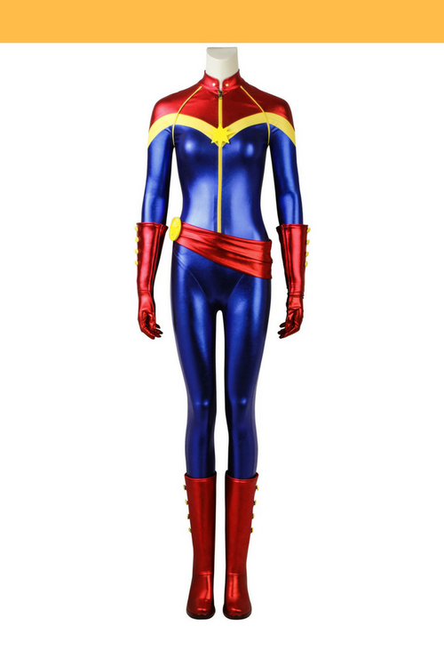 Cosrea Marvel Universe Ms Marvel MCU Cosplay Costume