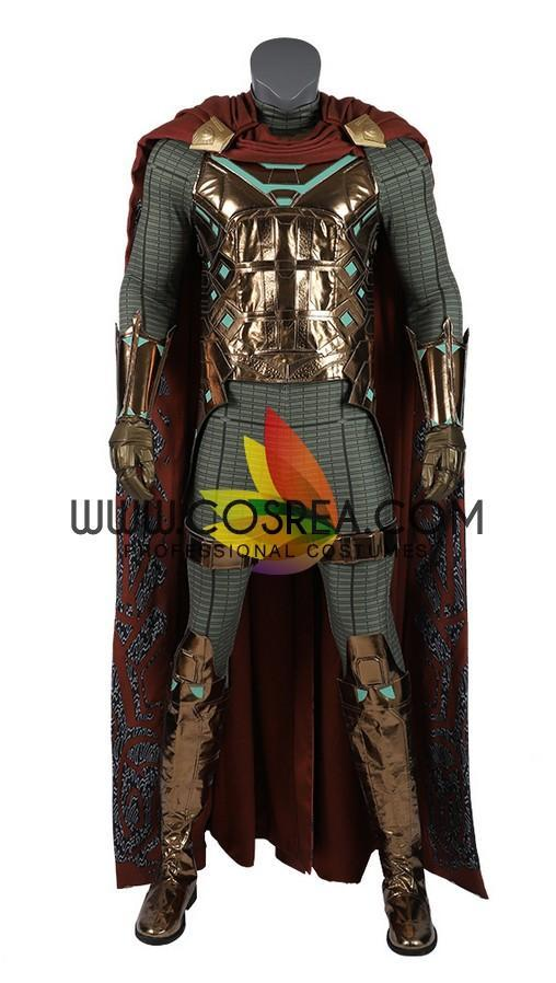 Mysterio Digital Printed Spiderman Far From Home Cosplay Costume