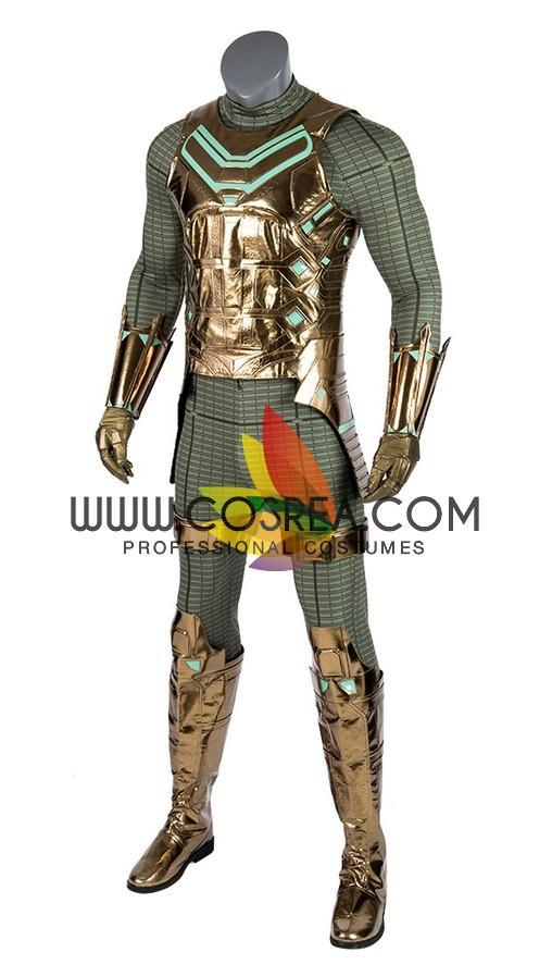 Cosrea Marvel Universe Mysterio Digital Printed Spiderman Far From Home Cosplay Costume