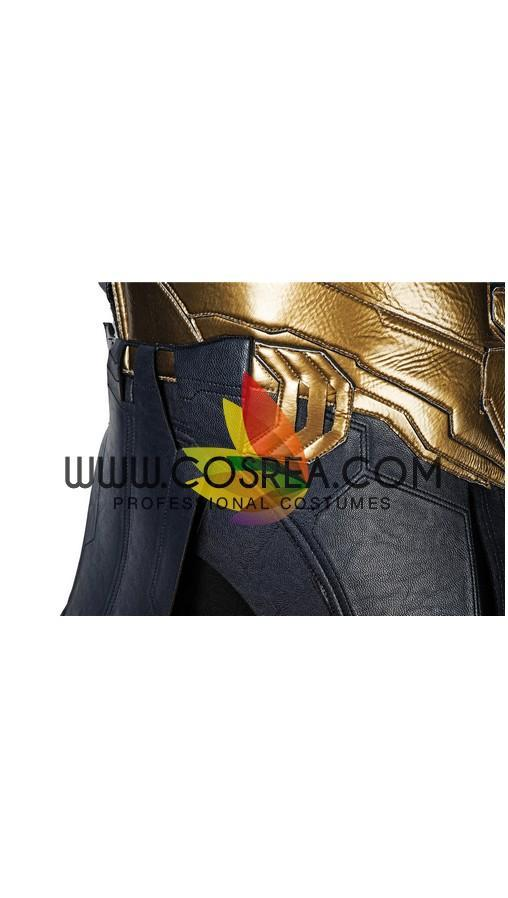 Thanos Infinity War Metallic PU Leather Cosplay Costume - Cosrea Cosplay