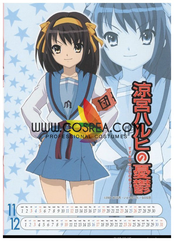 Haruhi Suzumiya North High Winter Cosplay Costume - Cosrea Cosplay