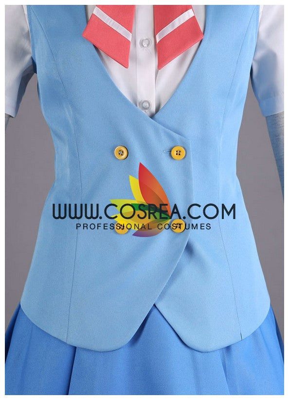 Place To Place Tsumiki Miniwa Summer Cosplay Costume - Cosrea Cosplay