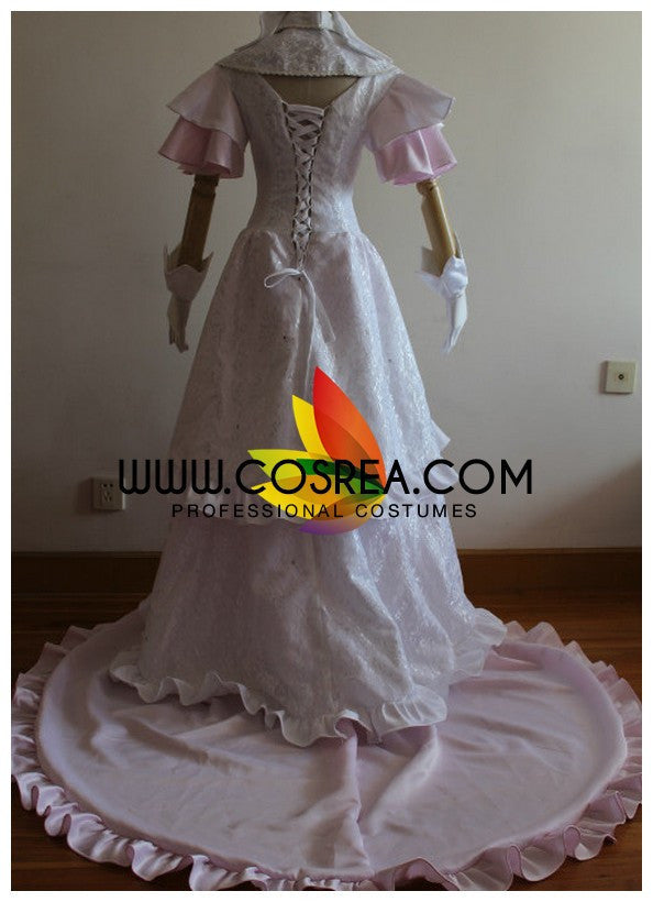 Puella Magi Ultimate Madoka Brocade Satin Cosplay Costume - Cosrea Cosplay