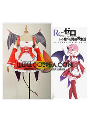 Re Zero Ram Death Or Kiss Cosplay Costume - Cosrea Cosplay