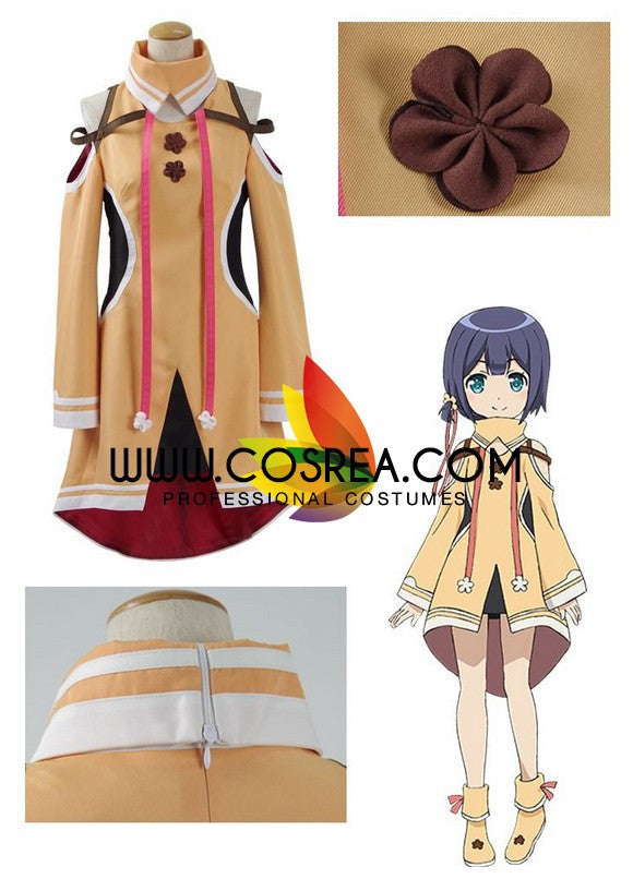 Regalia The 3 Sacred Stars Tia Kleis Cosplay Costume - Cosrea Cosplay