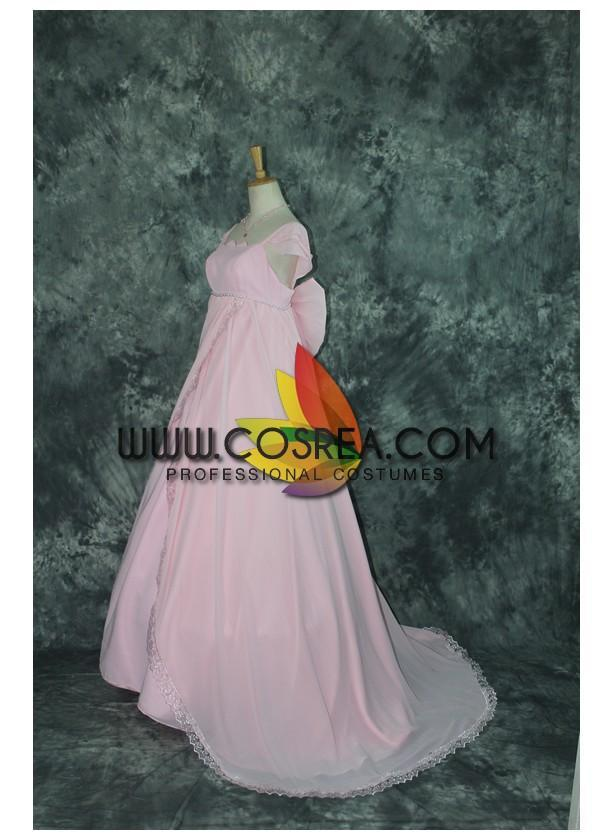 Sailormoon Chibimoon Princess Satin Cosplay Costume - Cosrea Cosplay