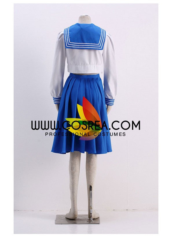 Sailormoon Crystal Ami Mizuno School Uniform Cosplay Costume - Cosrea Cosplay