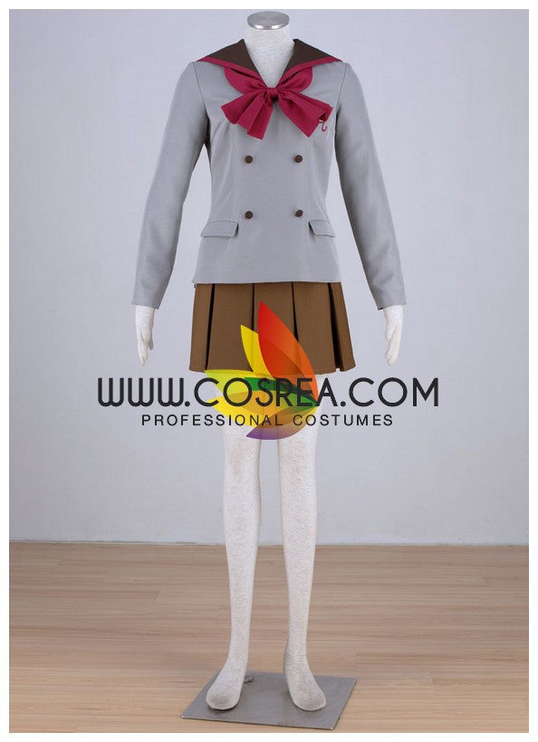 Sailormoon Crystal Rei Hino School Uniform Cosplay Costume - Cosrea Cosplay