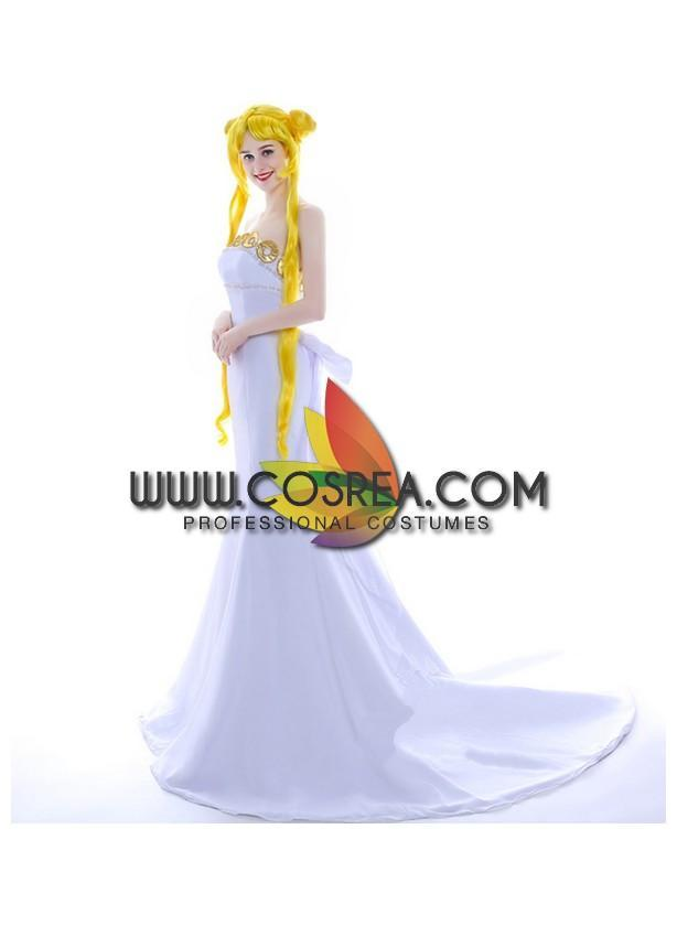 Sailormoon Neo Queen Gold Cosplay Costume - Cosrea Cosplay