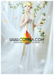 Sailormoon Princess Serenity Chiffon Beaded Cosplay Costume