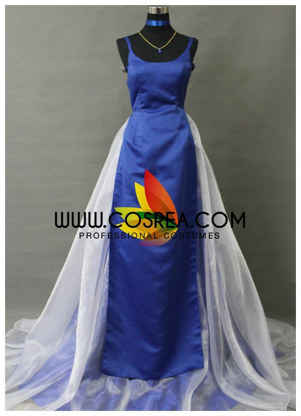 Sailormoon Princess Uranus Satin Cosplay Costume - Cosrea Cosplay